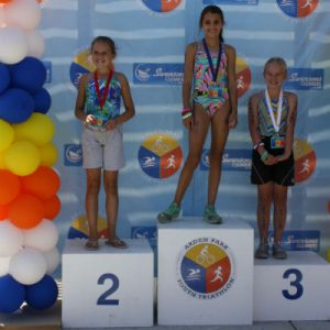 2016 Arden Park Youth Triathlon Girls Podium