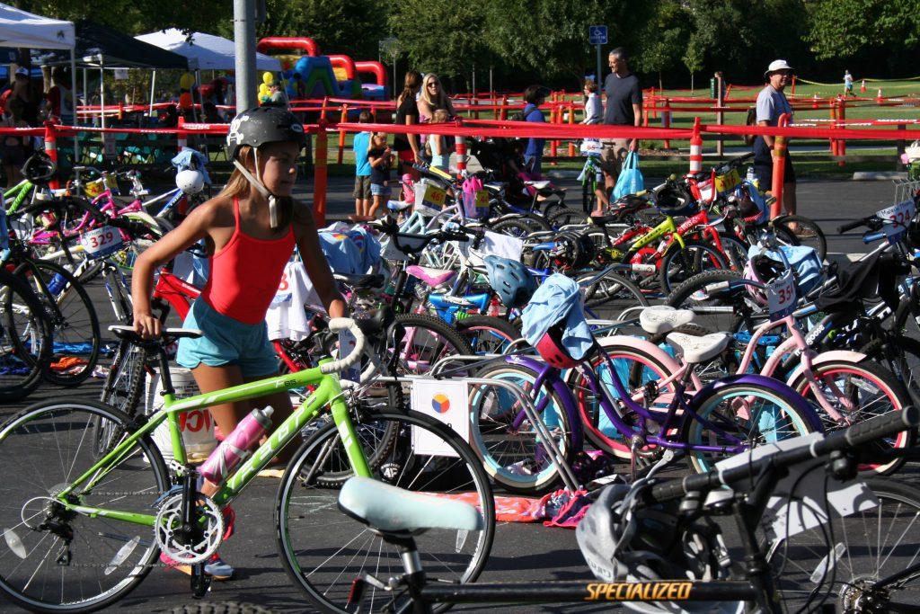 2017 Arden Park Triathlon Transition Area
